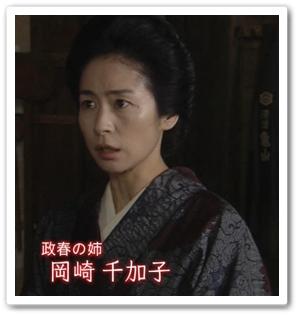 岡崎千加子(西田尚美)「マッサン」